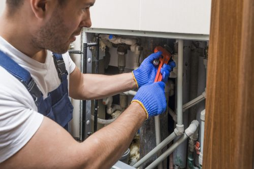 Plumber Pipes Inspection